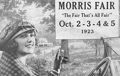 Flyer for the fair from 1923
