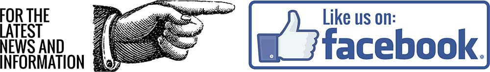 For the latest news and information, Like us on Facebook
