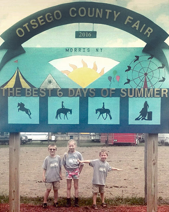 Otsego County Fair Sign