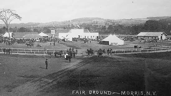 Picture of the morris fairgrounds